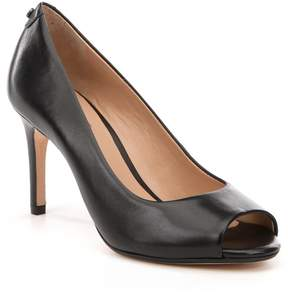 Antonio Melani Rainah Leather Peep Toe Pumps