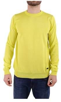 Trussardi Men's Yellow Cotton Sweatshirt.
