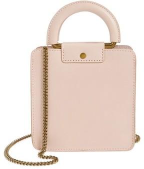 Madewell Leather Crossbody Bag - Pink