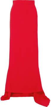 Antonio Berardi Crepe Maxi Skirt - Red