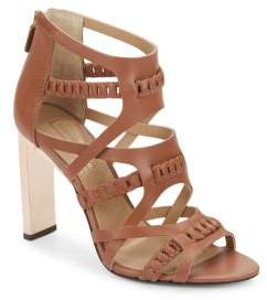 BCBGMAXAZRIA Dorie Woven Leather Sandals