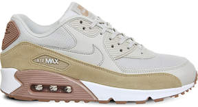 Nike 90 leather and mesh trainers