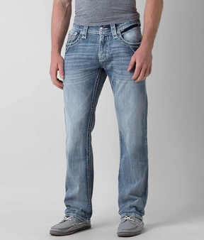 Rock Revival Neal Relaxed Straight 17 Stretch Jean