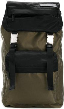 Marni bi-colour backpack