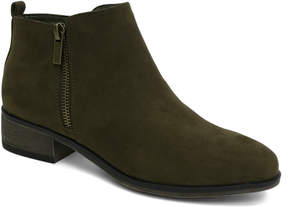 Bamboo Olive Saber Ankle Boot - Women