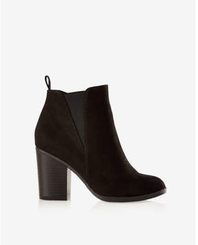 Express heeled booties