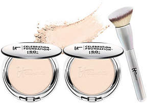 It Cosmetics Supersize SPF50 Celebration Foundation with Luxe Brush