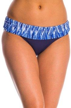 Anne Cole Indigo Tide Fold Over Bikini Bottom 8145434