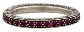 Chrome Hearts Ruby Eternity Band