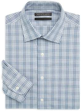 Saks Fifth Avenue BLACK Men's Cotton Check Shirt