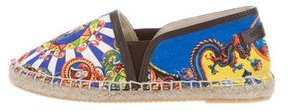 Dolce & Gabbana Girls' Printed Canvas Espadrilles