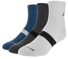 Jordan Nike Men's Low Quarter Dri-fit Socks.