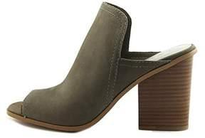 1 STATE Womens Fernan Leather Open Toe Mules.