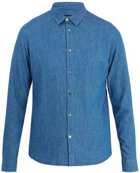 A.P.C. Point-collar denim shirt