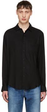 Ami Alexandre Mattiussi Black Wide Shirt