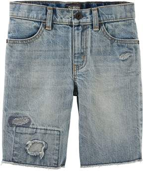 Osh Kosh Oshkosh Bgosh Boys 4-12 Repair Denim Shorts