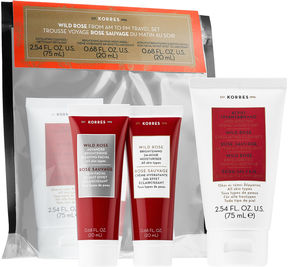 Korres Wild Rose from AM to PM Travel Set
