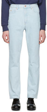 Martine Rose Blue Slim Jeans