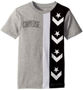 Converse Star Chevron Stripe Tee Boy's Clothing