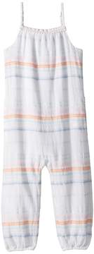 Polo Ralph Lauren Striped Cotton Dobby Jumpsuit Girl's Jumpsuit & Rompers One Piece