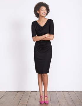Boden Rita Ruched Jersey Dress