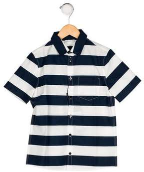 Dolce & Gabbana Boys' Stripe Button-Up Shirt w/ Tags