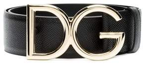 Dolce & Gabbana Dolce E Gabbana Women's Be1313a100180999 Black Leather Belt.