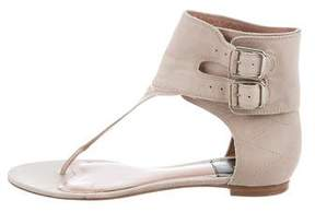 Laurence Dacade Leather Thong Sandals