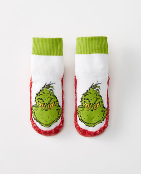 Hanna Andersson Dr. Seuss Grinch Moccasins