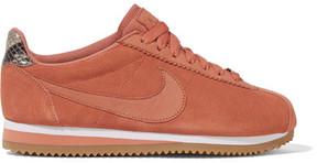 Nike A.l.c. Classic Cortez Suede Sneakers - Blush