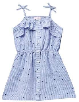 Design History Star Print Dress (Toddler & Little Girls)