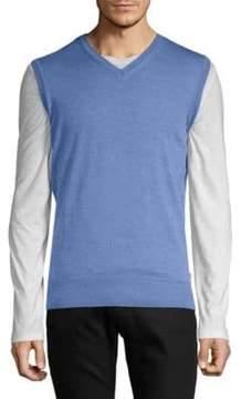 Orlebar Brown Rib-Trimmed Merino Wool Sweater