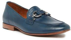 Donald J Pliner Leather Bit Loafer