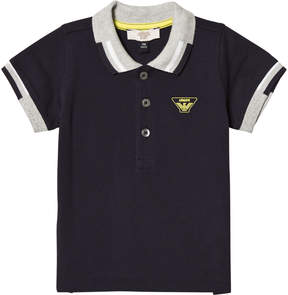 Armani Junior Navy Classic Logo Polo