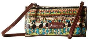 Sakroots Artist Circle Tech Wallet Crossbody Cross Body Handbags