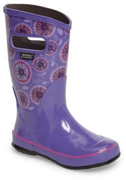 Bogs Girl's Wildflowers Rubber Rain Boot