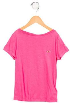 DSQUARED2 Girls' Short Sleeve Embellished Top w/ Tags