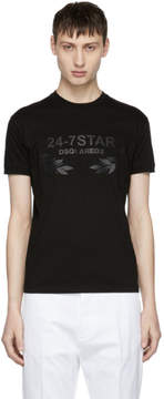 DSQUARED2 Black 24-7 Star T-Shirt