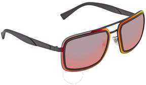 Versace Red Multilayer Square Sunglasses VE2183 12616Q