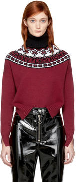 Fendi Red Alpine MCMXXV Turtleneck