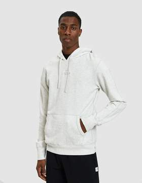 Reigning Champ Embroidered Logo Terry Pullover Hoodie in Heather Ash