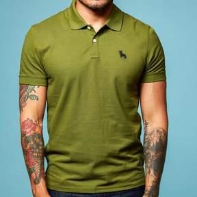 Blade + Blue Green Cotton Pique Polo Shirt