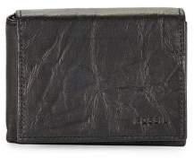 Fossil Crinkle Leather Bi-Fold Wallet