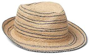 Gap Stripe fedora