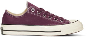 Converse Burgundy Chuck Taylor All Star 1970s Sneakers