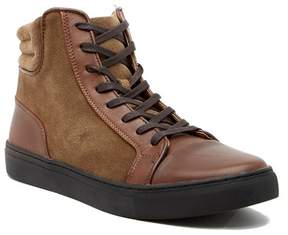 Kenneth Cole Reaction Contrast Leather Hi-Top Sneaker
