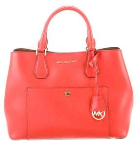Michael Kors Leather Convertible Satchel