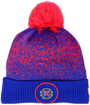 New Era Los Angeles Clippers On-Court Collection Pom Knit Hat