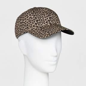 Mossimo Women's Animal Print Baseball Hat Brown