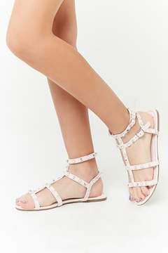 Forever 21 Girls Embellished Gladiator Sandals (Kids)